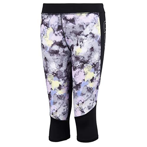 adidas Girls' Big Active Sports Capri Legging Athletic Tight, D2M Light Purple, Large