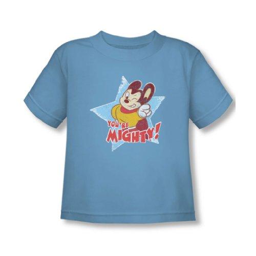 Mighty Mouse - - Vous êtes de T-shirt puissant En Caroline du bleu, 4T, Carolina Blue