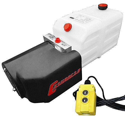 Hydraulikaggregat Casuroc 2.0, Hydraulikpumpe 12 V 180 bar 2000 Watt mit 8 Liter Tank