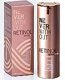 Hochwirksames Retinol Serum | Retinol Creme mit Hyaluron Reduziert Falten & Pigmentflecke sichtbar,...