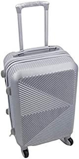 Hardside Spinner Luggage - 20-Inch, Carry-On Silver Expandable