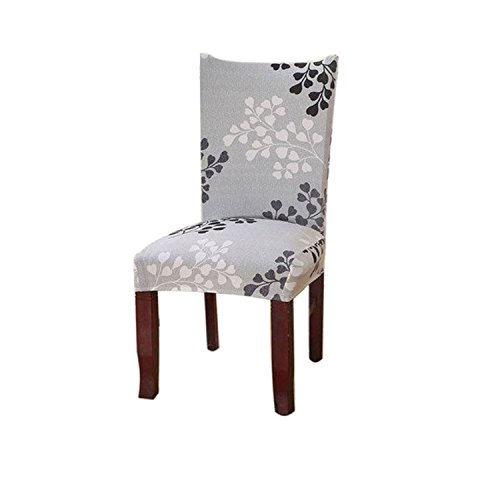 Kaariss Stretch Removable Washable Short Dining Chair Protector Cover Slipcover, 27