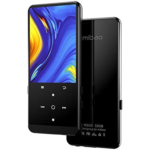 32GB Reproductor MP3, con Bluetooth 4.2, con Radio FM, Grabación, Pantalla de 2.4', Sonido de Alta fidelidad, Soporte de hasta 128 GB de expansión(Auriculares y Brazalete Deportivo Incluido)