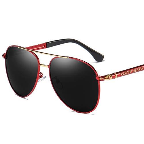 Gafas de Sol Gafas de Sol polarizadas clásicas Gafas de Sol UV Retro de Moda Fresca protección para los Ojos (Color : E)