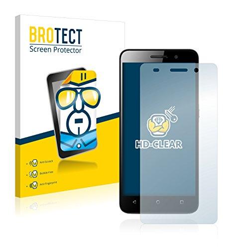 BROTECT Schutzfolie kompatibel mit Huawei G Play Mini (2 Stück) klare Bildschirmschutz-Folie