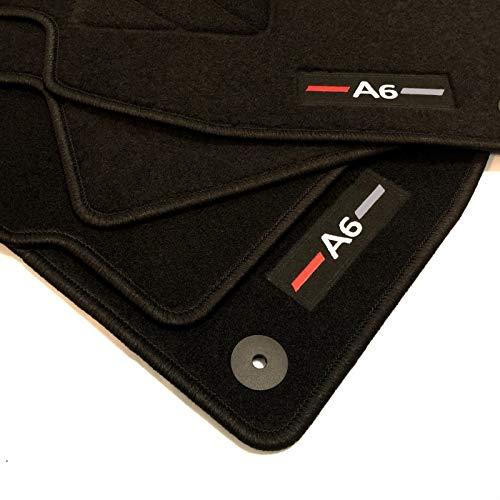 Zesfor Alfombrillas para Audi A6 C5 Acabado Sportline (1997-2004)