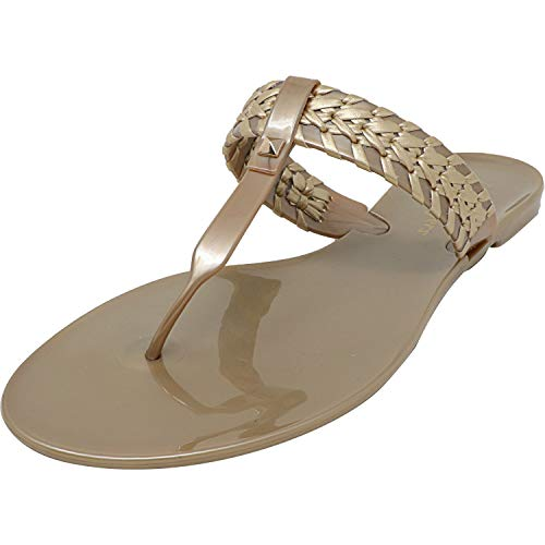 Jack Rogers Tinsley Jelly Gold 10