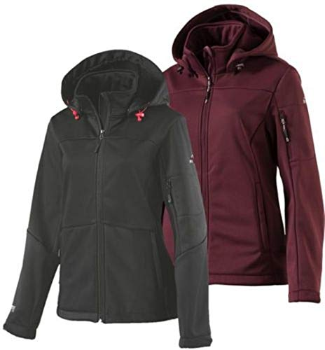 McKINLEY Fairbanks Jacke Damen, Rose Dark, 42