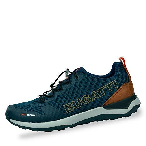 bugatti Herren 342849035900 Sneaker, Blau, 44 EU