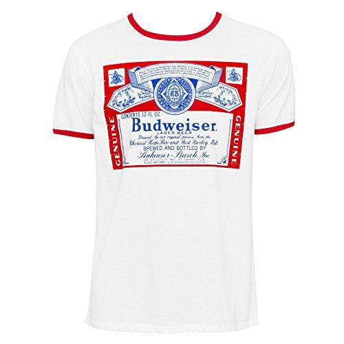 Budweiser Ringer Tee Shirt