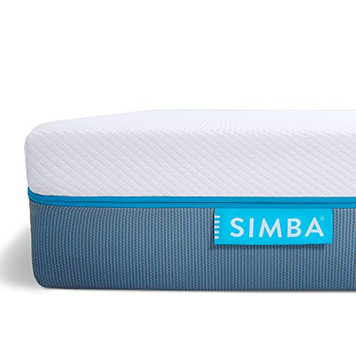 Simba Hybrid Mattress Original | UK King 150x200x25 cm | Blue Cover | 200 Nights trial | 10 years warranty