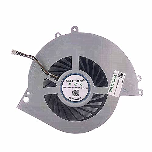 QUETTERLEE Replacement Internal Cooling Fan for SONY PS4 fan ps4 CUH-1001A CUH-11XX CUH-1000 CUH-1000AB01 CUH-1000AB02 1115A 1115B 500GB KSB0912HE Note: This item can not fit for PS4 CUH-1200 Series