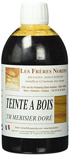 Les Frères Nordin 410536 Teinte à Bois Merisier Dore,