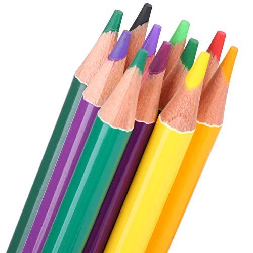 Lápices de acuarela, lápices de colores para estudiantes de arte suave para que los estudiantes dibujen