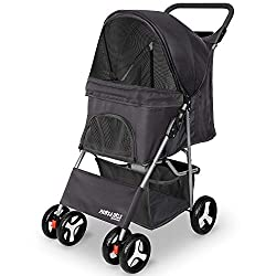 The City Walk N Stride stroller also comes in black