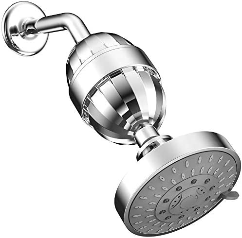 ESOW High Output Shower Head with Multi Stage Shower Filter Hard Water Filter Removes Chlorine product image