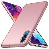 Fanxwu Compatibile con Custodia Huawei P30 Lite Case Ultra Sottile Matte Hard PC Cassa Anti Graffio Protettiva Cover - Oro Rosa