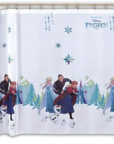Polontex Disney Gardinen Die Eiskönigin Frozen DA04-225 cm Breite x 150 cm Lange Kinderzimmer Vorhang