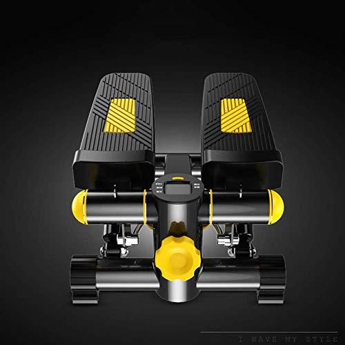 WYJW Crosstrainer op kantoor, pedaaltrainer, stil en compact, mini-ellips, stappenpedaal, weerstand van 30 ponden, voor training thuis en op kantoor (36,5 *