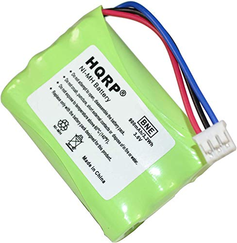 HQRP Batteria per BANG e OLUFSEN BeoCom 6000, 3HR-AAAU, 70AAAH3BMXZ, T373; per telefoni cordless DECT 2,4 GHz