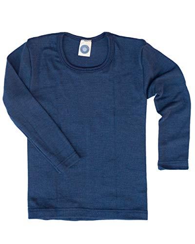 Cosilana Kinder Unterhemd Größe 116 in Marine - Verkauf von Wollbody