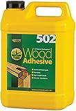 Everbuild WOOD5 - Adhesivo multiusos para madera (5 L, resistente al agua)