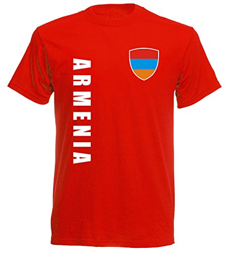 aprom Armenien T-Shirt TS-10 rot Trikot (M)