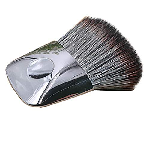 JoJody Pinceau pour fond de teint, Foundation Brush Pinceau cosmétique Pinceau Tampon Anti-Cernes Pleine Couverture, pour Mixed Liquid, Cream ou Flawless Powder Cosmetics (D)