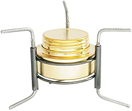 SODIAL Outdoor Portable Alcohol Stove Foldable Alcohol Stove Camping Alcohol Stove