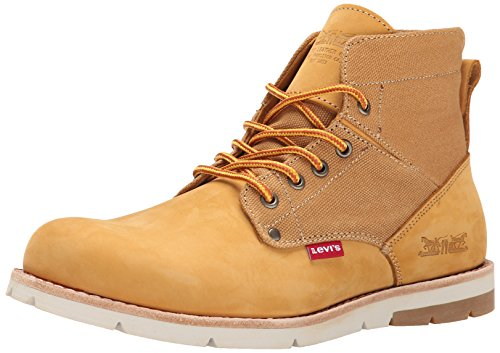 Levis Men's Jax Engineer Boot, Wheat, 9 M US