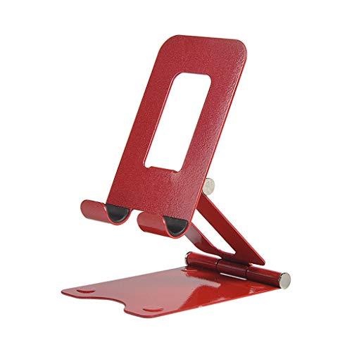 ZHJDX Tableta Perezosa de Metal Tableta Universal Doble Plegable Tableta Tableta Soporte Soporte de Mesa de Escritorio de Aluminio Red