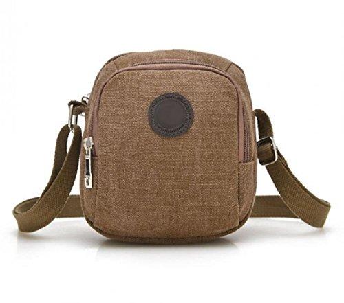 Leuchtbox Borsa Messenger, caffè (marrone) - LB00306