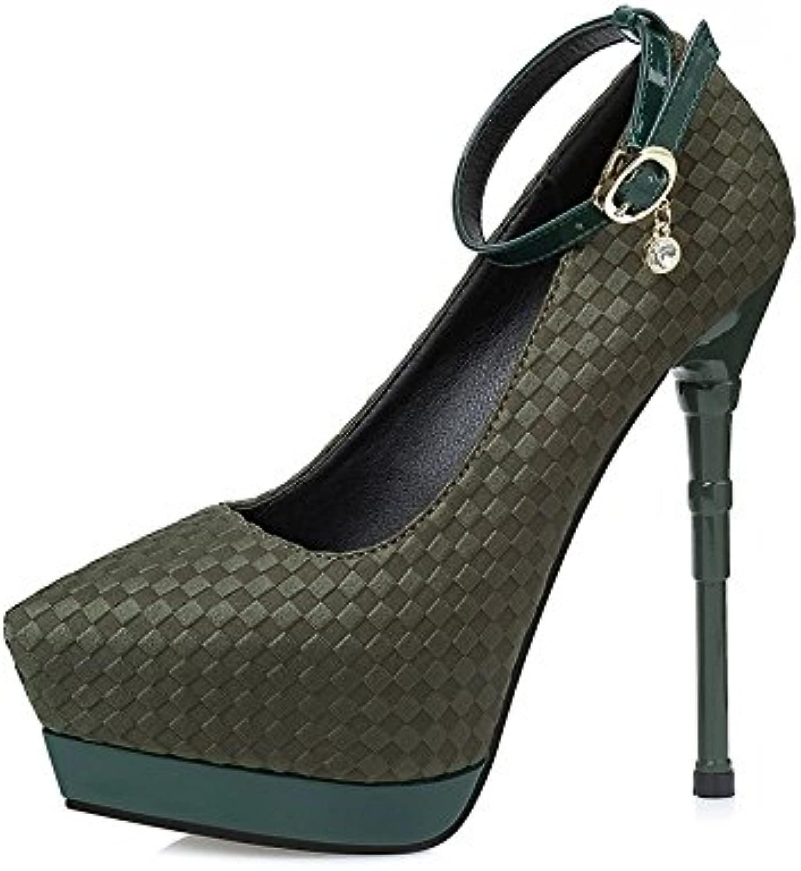 Die Kreativen einfach Lady Lady sexy scharfe seicht schmale Ferse Ferse Schuhe  in stadion promotions