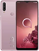 Điện thoại di động Android – Alcatel 3X 2019 Triple Camera 4G LTE Unlocked Global 64GB 6.52 inch Fingerprint 4GB Ram Octa Core 5048A Android Pie (Jewelry Rose)