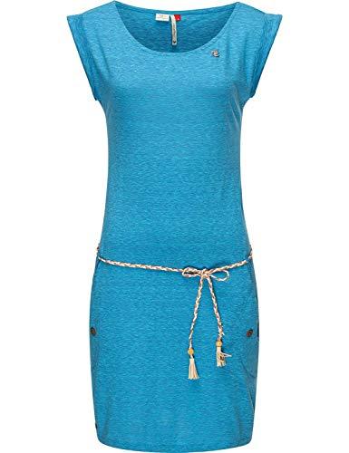 Ragwear Damen Baumwoll Jersey Kleid Tag Aqua20 Gr. S