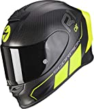 Scorpion EXO-R1 CARBON CORPUS II Matt Black-Neon Yellow XL