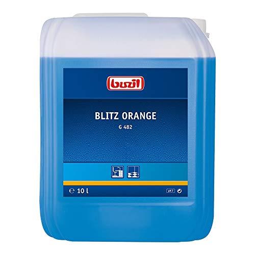 Buzil Allzweckreiniger, Universalreiniger G482, Orangenduft, 1 Stück, 2072050, 10 l Kanister