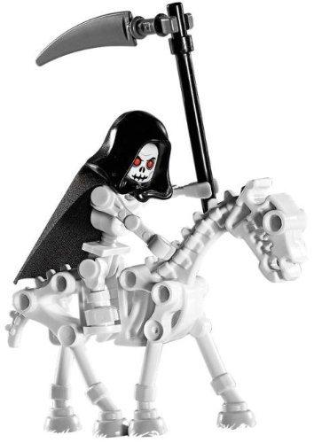 LEGO Skeleton Reaper with Skeleton Horse (Loose) Castle Mini Figure