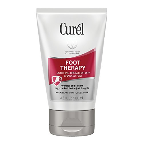 Curél Foot Therapy Cream, Soothing Lotion for Dry, Callused Feet and Cracked Heels, Quick Absorbing, Humectant Moisturizer, 3.5 Ounce, with Shea...