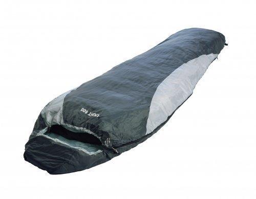 Mumienschlafsack ultraleicht mit vorgeformter Kapuze mit 2-Wege-Reißverschluss