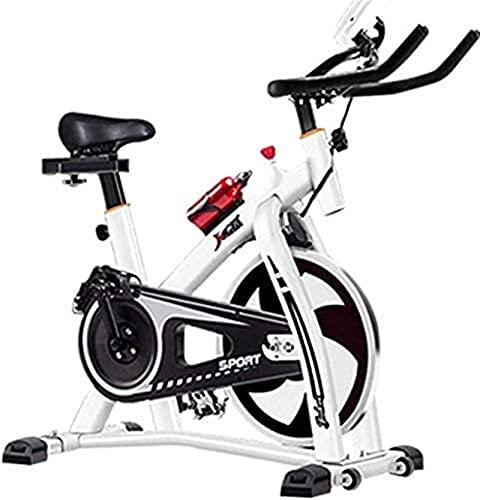 DJDLLZY Portátil Bicicleta Estatica Cubierta ciclo de la bici, correa de transmisión cubierta de bicicleta de ejercicios, Llevar Pantalla LCD Soporte bicicleta estacionaria for el hogar Cardio entrena