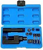 Motocicleta CAM Drive Chain Breaker Kit Cutter Rivet Tool 520/525/530/630 Pitch Motocicleta y sincronización de Bicicletas Desmontaje de la Cadena de distribución Cambio de Mantenimiento