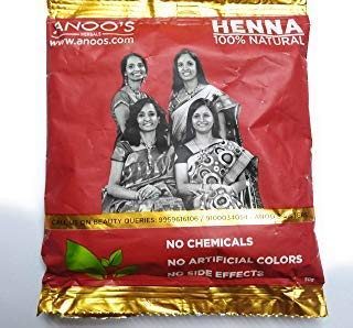 ANOOS HENNA POWDER 50gms (PACK OF 2)
