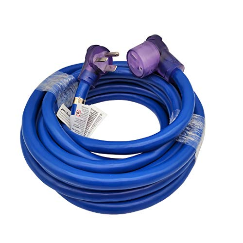 Parkworld Welder 50A Extension Cord, Welding 3-Prong NEMA 6-50 Extension Cord (25FT)