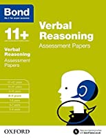 Bond 11+: Verbal Reasoning: Assessment Papers by J M Bond(2015-03-05)