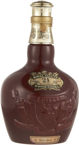 Chivas Regal Royal Salute Blended Scotch Whisky 21 Years Old, Schottland 0,7 l