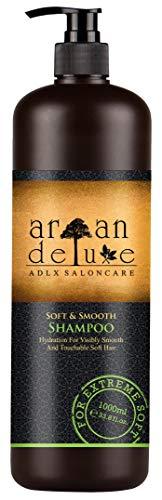 Argan Deluxe Repair & Care-Shampoo in Friseur-Qualität 1000 ml - gegen Spliss, Frizz & Haarbruch