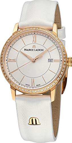 Maurice Lacroix Eliros EL1094-PVPD1-112-1 Damenarmbanduhr mit echten Diamanten