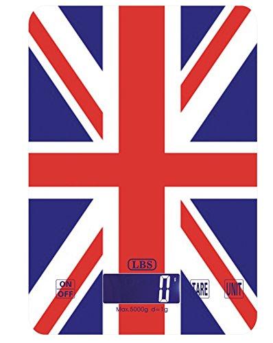 Balance de Cuisine Drapeau Union Jack Style LBS