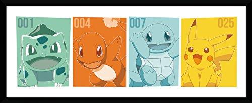 GBeye Collector Print - Pokemon Kanto Partners, verschieden, 79 x 44 x 3 cm, PFD275